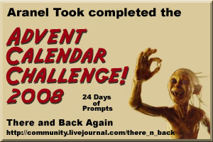 There and Back Advent Calendar Challenge